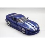 1/18 Bburago 1992 Dodge Viper RT10 Blue Diecast Model Car