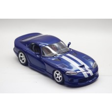 1/18 Bburago 1992 Dodge Viper RT10 Blue Diecast Model Car