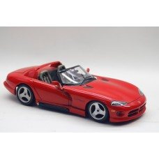1/18 Bburago 1992 Dodge Viper RT10 Red Diecast Model Car