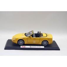 1/18 MaiSto Maserati Spyder Diecast Model Car