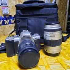 PENTAX MZ-5 SLR 35mm Film Camera 28-70mm Lenses 80-200mm