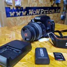 Sony Alpha a230  Lens 18-55mm