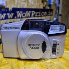 Olympus SuperZoom 700XB 35mm Film Camera Silver