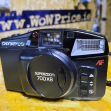 Olympus SuperZoom 700XB 35mm Film Camera Black