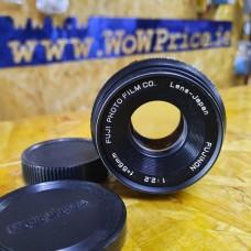 FUJIFILM FUJI FUJINON 55mm f2.2 Prime Lens for M42
