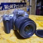 02122 SLR Nikon F75 Lens 35-80mm 35mm Film Camera