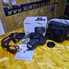04341 Canon EOS 650D EF-S 18-55mm Digital Camera