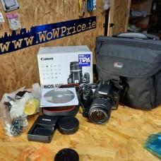 Canon EOS 450D | EOS Rebel XSi | EOS Kiss X2 12MP EFS 18-55mm III Lens