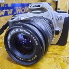 Canon EOS 300 Lens EF 38-76mm f4.5-5.6 35mm Film Camera