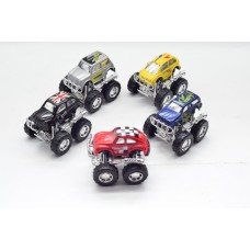 5 x TOY MONSTER TRUCKS NICE QUALITY