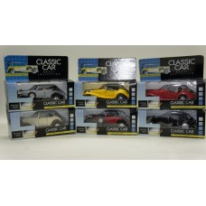 6 Cars in Classic Cars Collection