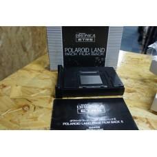 Zenza Bronica Polaroid Land Pack Film Back for ETR ETRS ETRSi