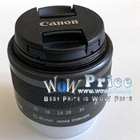 Canon EF-M 15-45mm F/3.5-6.3 STM IS Lens Used
