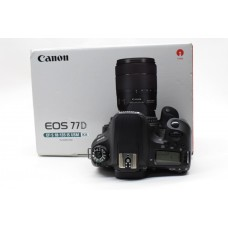 Used: Canon Eos 77d  Camera - Body Only