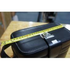 Vintage Camera Leather Box Bag