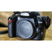 Used: Nikon D3000 Body with Strap