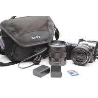 Sony Alpha A5000 20.1MP Digital Camera 16-50mm & 18-55mm Lenses