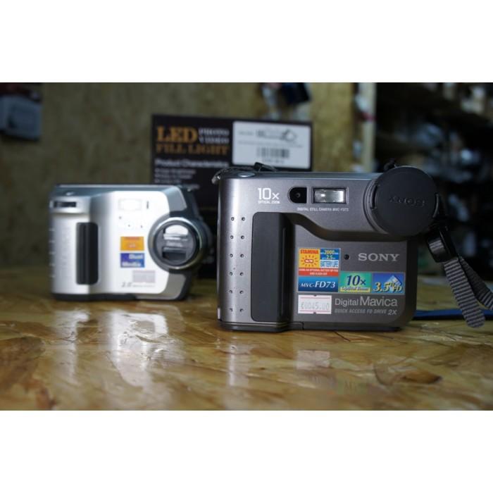 Sony Mavica - MVC-FD73 - MVC-FD200 3 5