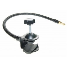 "Tripod Boom Arm Clamp Clip with Flexible 1/4"" Spigot Mount"