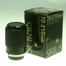 Used: SIRIUS 70-210MM COMPACT MACRO ZOOM LENS IN BOX  For OLYMPUS