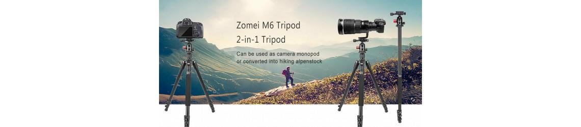 ZOMEI M6 Camera Tripod Monopod Aluminium