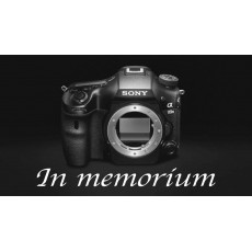 Sony puts final bullet in A-mount cameras