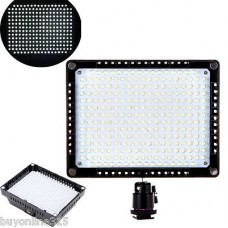 260 LED Video Light Lamp Panel Dimmable 18W