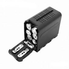 NP-F970 6pcs AA Battery Case Pack Power