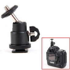 1/4 inch Screw Tripod Mini Ball Head Light Bracket