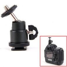18722 1/4 inch Screw Tripod Mini Ball Head Light Bracket