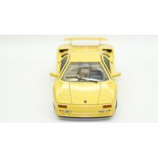 1/18 Bburago 1990 Lamborghini Diablo Yellow
