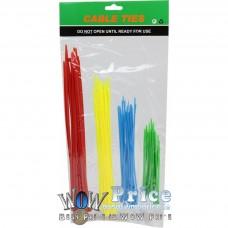 47410 100PCS Plastic Nylon Cable TIES