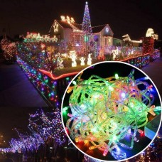 38611 10M 100 LED RGB Party Decor Outdoor Fairy String Light Lamp