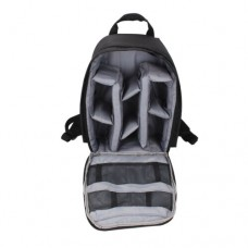 23423 Waterproof Backpack For DSLR Camera Grey