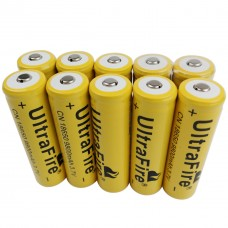 3.7V 18650 9800mAh Li-ion Rechargeable Battery