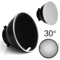 31335 18cm Bowen Strobe Light Reflector With Honeycomb