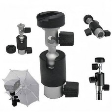 Ball Head Umbrella Flash Mount Holder For Stand