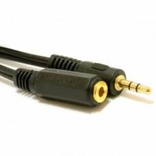 47110 5m 3.5mm Jack EXTENSION AUX Speaker Headphone Cable Lead
