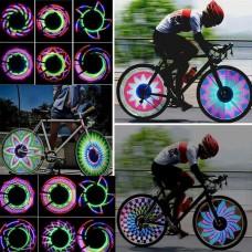 35227 32 LED Waterproof Bicycle Wheel Signal Tire Spoke Light