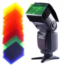 18612 35PCS Square Full Color Balance Gel Filter Set