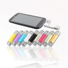 USB MiniUSB Aluminum Flash drive OTG USB Flash Drive Micro USB Flash Drive U Disk