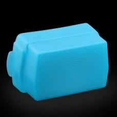 4W x 7L x 4H cm Bounce Flash Diffuser Cap Large Blue