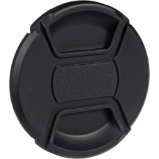 49-82mm Center Pinch Snap-on Front Lens Cap Cover