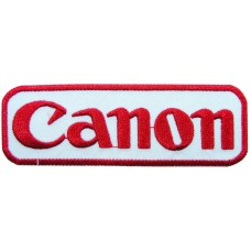 Canon Logo Sew Embroidered Iron on Patch
