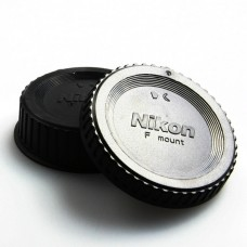 Cap Nikon F Mount  Body and Rear Lenses Cap