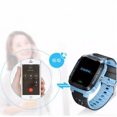 Anti-lost Children Kids Smart Watches Blue