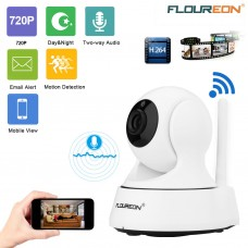 HD 720P Wireless WiFi Baby Monitor IP Camera CCTV