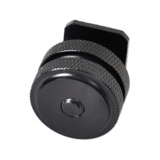 "1/4"" Dual Nuts Tripod Mount Screw to Flash Camera Hot Shoe"