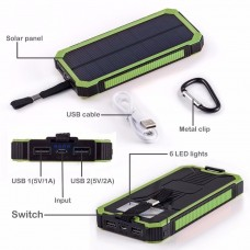 Portable 300000mAh Solar Charger Power Bank