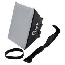 Foldable 12X11cm Camera Flash Diffuser Softbox
